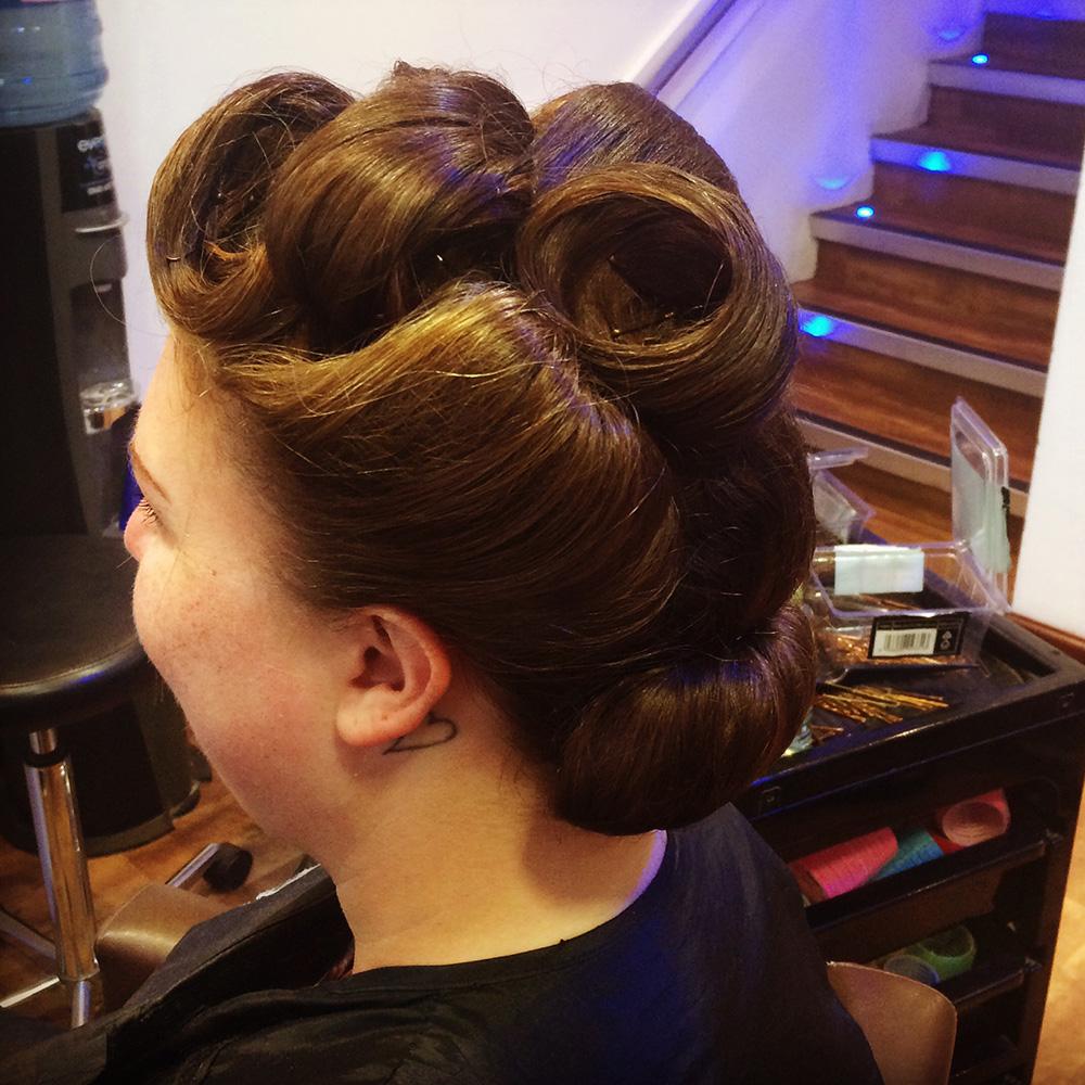 bridal hair herts